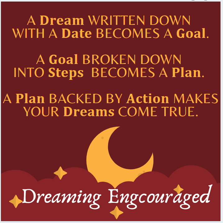 Dreaming Encouraged